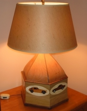Howard Renner - Automobile Inspired Lamp