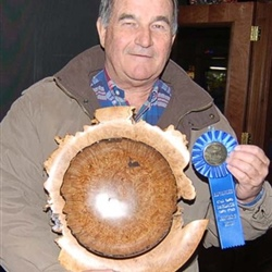 CWC Central Group Sponsored WhaJa•Make••WhaJa•Get 2012 @ Blue Goose Terry Elfers came from OVWG to brag on his Winning 'Platter'